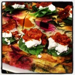 Pumpkin and Beetroot Frittata